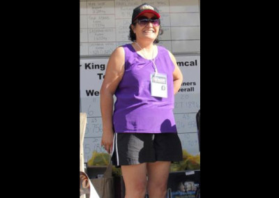 Edith Scower of Kaitaia took home the $1000 average weight prize.
