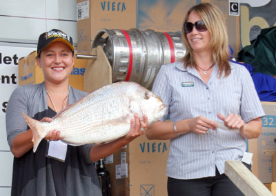 Farmlands day Winner Maria Daniels, Waiharara 6.405kg