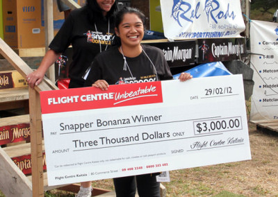 Our midweek draw was won by Mikaela Rogers from Kaitaia a Travel Voucher from Flight Centre $3000