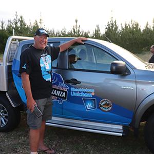 Truck Winner, Craig Larson