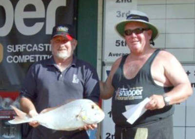 Peter Bryant of New Plymouth caught a 4.626kg snapper and took the first daily heaviest fish prize of $2,000.