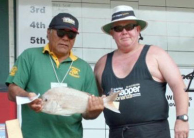 Wary Ashby of Paihia took home $2,000 for his 2.446kg fish.