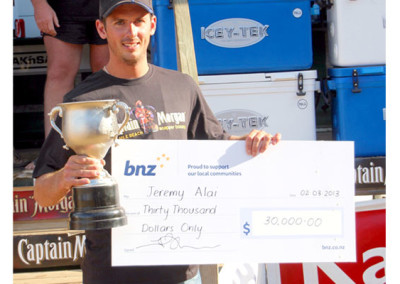Overall Winner and $3,000 richer Jeremy Alai from Auckland. Congratulations Jeremy !