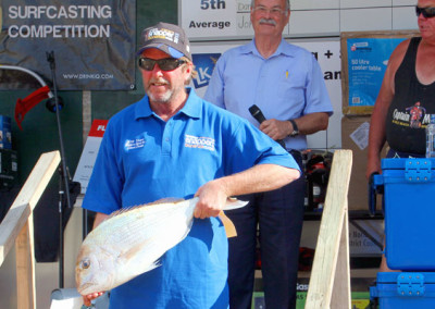 Wednesday Winner, Steve Doak with his fish for the day
