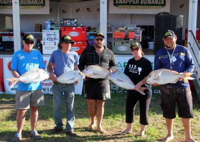 Fridays Heaviest Fish Winners