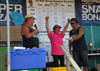 Ladies Average Weight Snapper - Moira Rogers