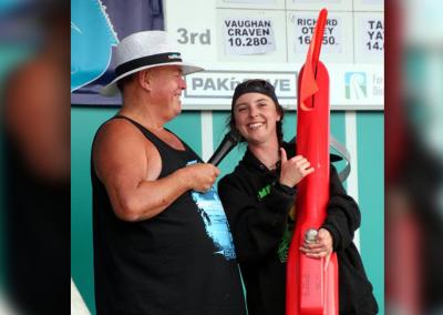 The Liquor King Seahorse Kontiki Winner: Anna Kneale