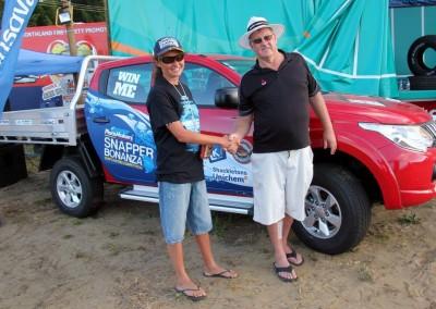 Winner of the Mitsubishi Triton: Renee Sauer